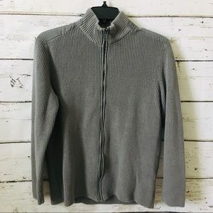 Kenneth Cole Zip Up Sweater